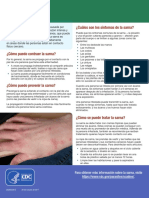 Scabies Fact Sheet Es