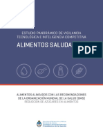 2 Estudio Panoramico Alimentos Alineados Oms Reduccion de Azucares
