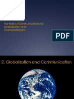 Lecture Communication and Globalisation