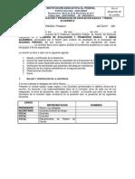 Acta de Comisión de Evaluación y Promoción 2017