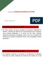 Oferta de Sistemas Domóticos en Chile