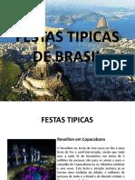 Festas Tipicas de Brasil