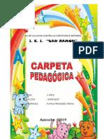 CARPETA PEDOGOGICA