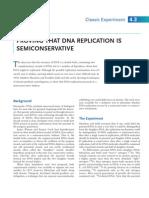 A2 - Semi Conservative DNA Replication