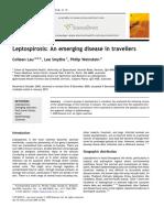 Lau, Smythe, Weinstein. Leptospirosis an Emerging Disease in Travellers. 2010