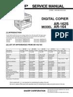 Sharp AR-164 Service Manual