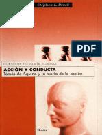 Brock, Stephen -- Accion y conducta Tomas de Aquino y la teoria de la accion