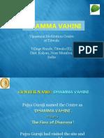 Dhamma Vahini