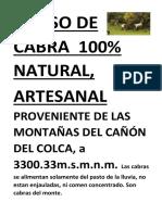 QUESO DE CABRA  100.docx