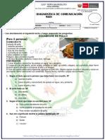 EVALUACIÓN DE ENTRADA COMUNICSACION 2019.docx