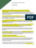 Notas Para Leer Al Sujeto en Foucault Desde América Latina