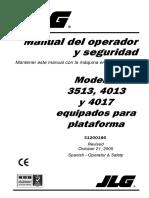 J TELEHANDLER (Manual de Operación)