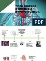 trabajo colectivo linea del tiempo electrofisiologia
