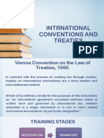 Intrnational Conventions and Treaties