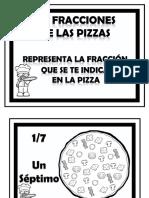 Fracciones Pizzas