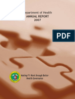 Doh Annual Report 2007 A