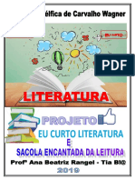 Projeto Leitura 2019 Delfica