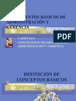Fundamentos Básicos de Administración y Gerencia