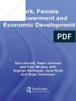 Sara Horrell_Hazel Johnson_Paul Mosley_S Garikipati_June Rock_All Authors - Work, Female Empowerment and Economic Development-Routledge (2008)