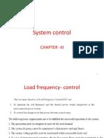 System Control PSOC 3
