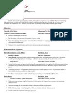 midland resume