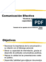 COMUNICACION EFECTIVA Y LIDERAZGO