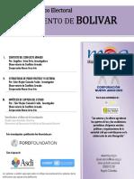 Monografía Político Electoral DEPARTAMENTO DE BOLIVAR