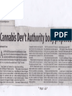 Manila Standard, Aug. 20, 2019, Cannabis Dev't Authority body proposed.pdf