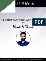 14 Point Facebook Checklist