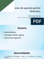 Infecciones Aparato Genital de La Mujer