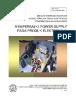 Mereparasi Power Supply Pada Produk Elektronika