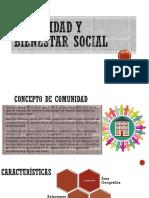 Comunidad y Bienestar Social