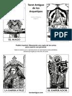 Tarot Antiguo de Los Arquetipos Arcanos Mayores