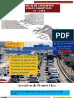 01. Clasificación de Las Carreteras - Dg 2018