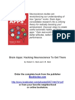 Brain Apps- Hacking Neuroscience to Get There