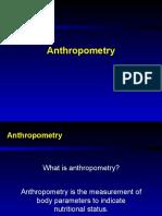 anthopometry
