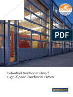 Industrial Sectional Doors En