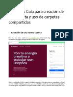 Guia Dropbox Carpetas Compartidas