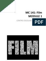 Module 1 Film