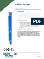 3500-92 Communication Gateway Datasheet - 141542
