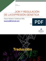 Clase 13 Traducción - Regulación Expresión-Biol