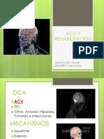 Acv y Rehabilitación