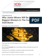 Why Junior Miners Will Be the Biggest Winners in the Coming Gold Boom _ OilPrice.com