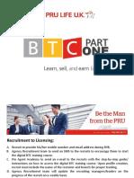 BTC Part 1 Online - Orientation Slides