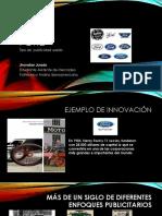 Ford- Tipos de Publicidad usados