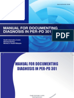 Manual for Documenting Diagnosis in Per Pd 301 1
