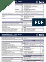 Tabela Tarifas PJ 01_2018