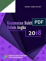 Kecamatan Bukitraya dalam angka