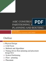ASIC Design - Physical design