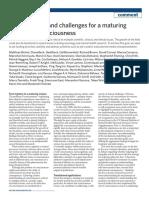 Artigo Nature Human Behaviour - Science of Consciousness